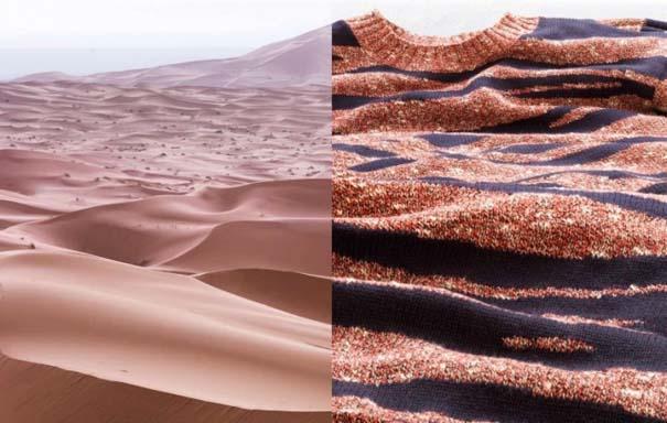 Εναέριες φωτογραφίες τοπίων συνδυάζονται με φωτογραφίες μόδας (2)