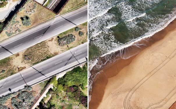 Εναέριες φωτογραφίες τοπίων συνδυάζονται με φωτογραφίες μόδας (10)