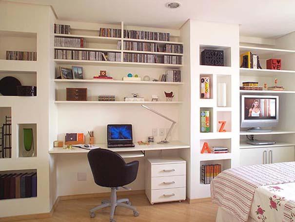 Εντυπωσιακά και μοντέρνα γραφεία στο σπίτι (2)