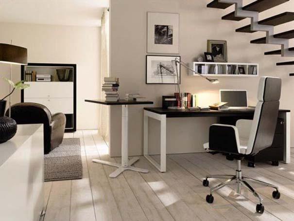 Εντυπωσιακά και μοντέρνα γραφεία στο σπίτι (3)