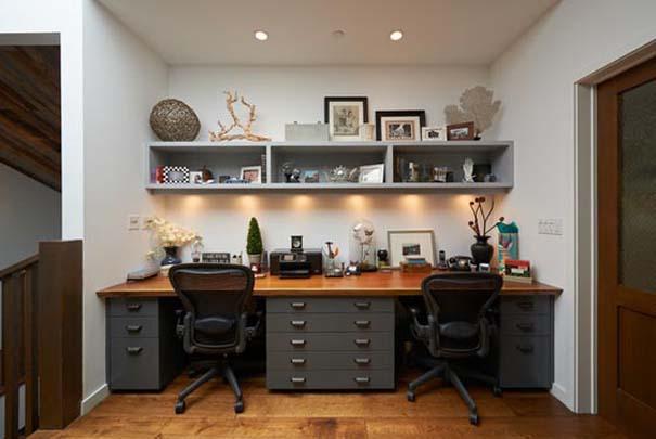 Εντυπωσιακά και μοντέρνα γραφεία στο σπίτι (4)