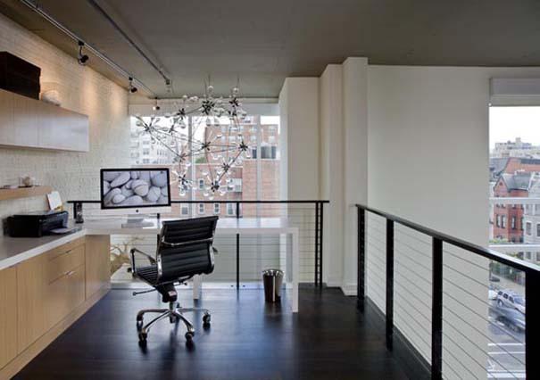 Εντυπωσιακά και μοντέρνα γραφεία στο σπίτι (5)