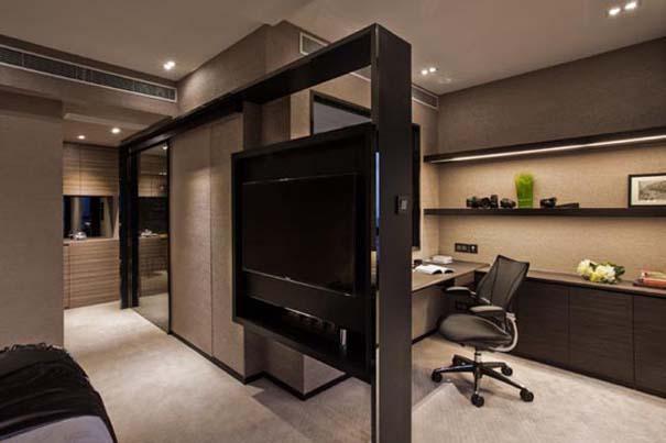 Εντυπωσιακά και μοντέρνα γραφεία στο σπίτι (7)