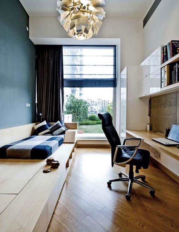 Εντυπωσιακά και μοντέρνα γραφεία στο σπίτι (8)