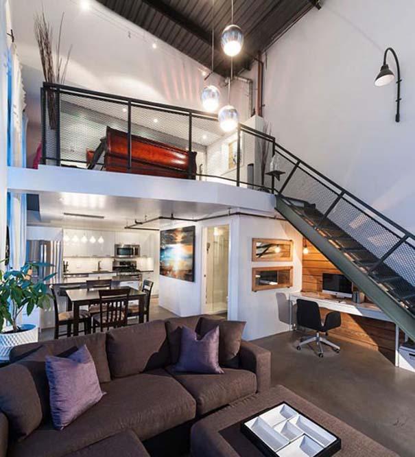 Εντυπωσιακά και μοντέρνα γραφεία στο σπίτι (10)