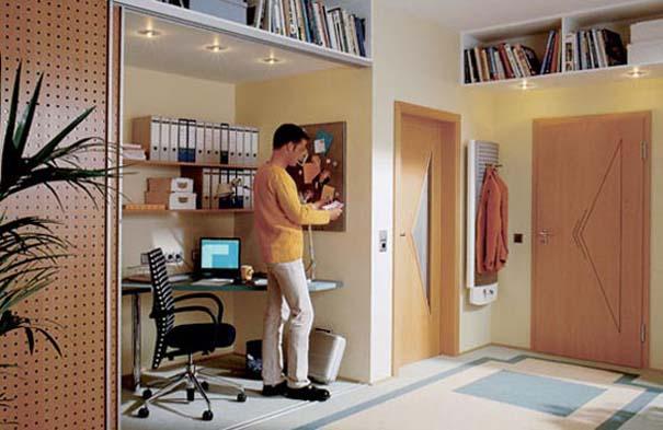 Εντυπωσιακά και μοντέρνα γραφεία στο σπίτι (14)
