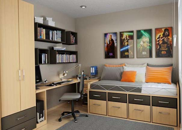 Εντυπωσιακά και μοντέρνα γραφεία στο σπίτι (18)