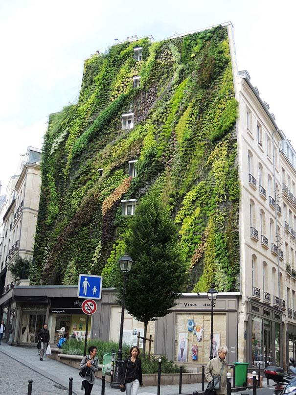 Ένας εντυπωσιακός κάθετος κήπος στο Παρίσι (5)