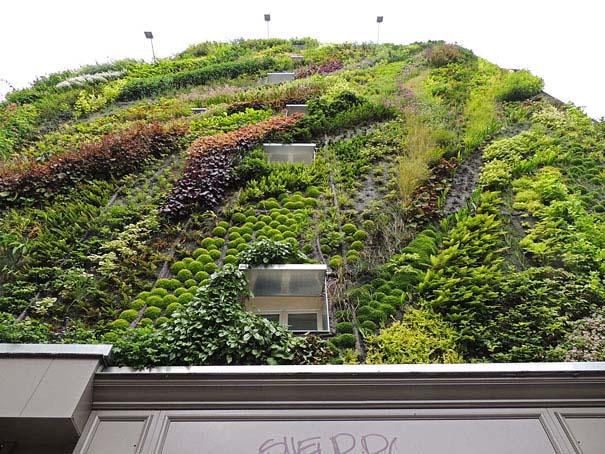 Ένας εντυπωσιακός κάθετος κήπος στο Παρίσι (7)