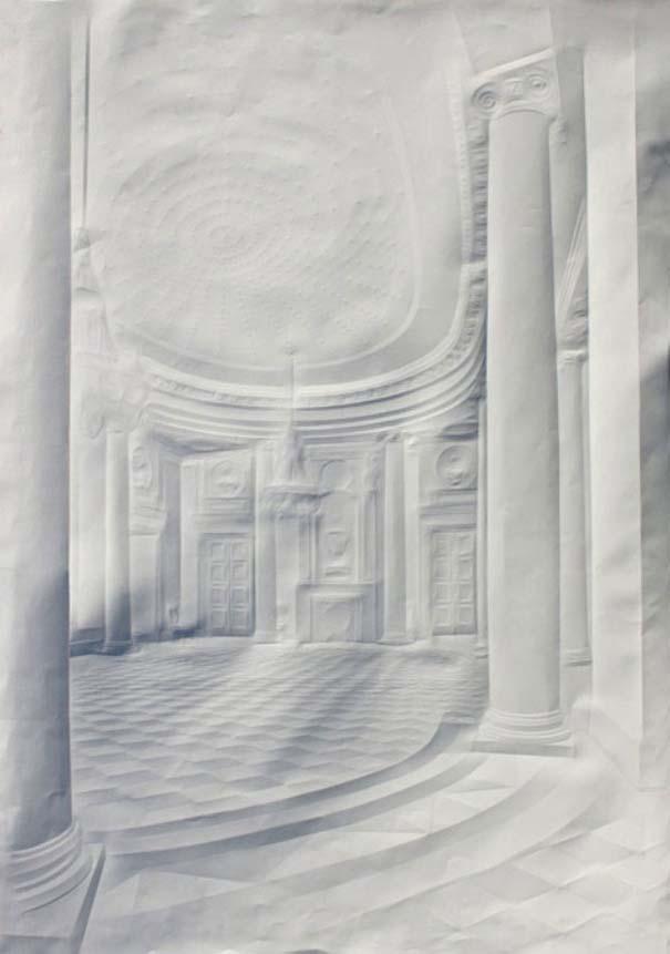 Έργα τέχνης από τσαλακωμένο φύλλο χαρτιού (4)