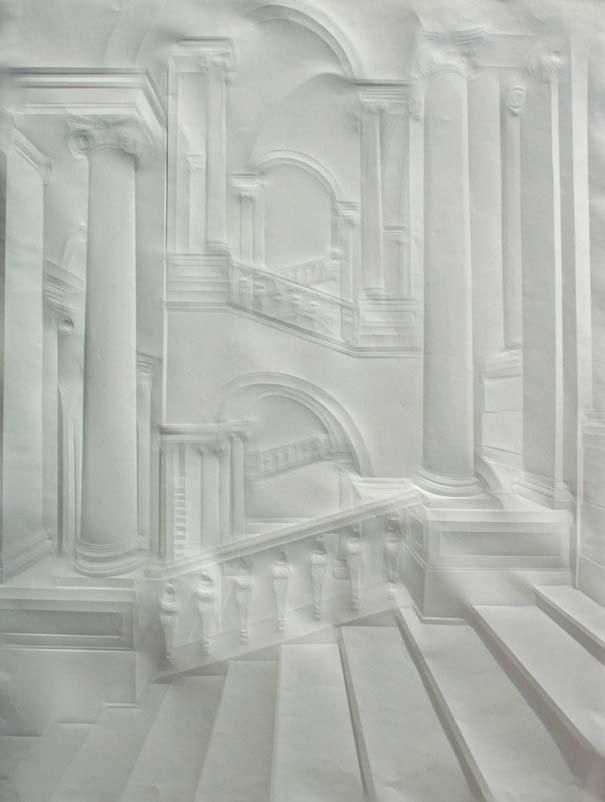 Έργα τέχνης από τσαλακωμένο φύλλο χαρτιού (7)