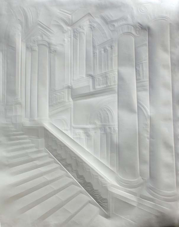 Έργα τέχνης από τσαλακωμένο φύλλο χαρτιού (9)