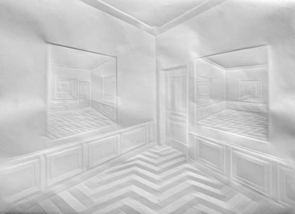Έργα τέχνης από τσαλακωμένο φύλλο χαρτιού (16)