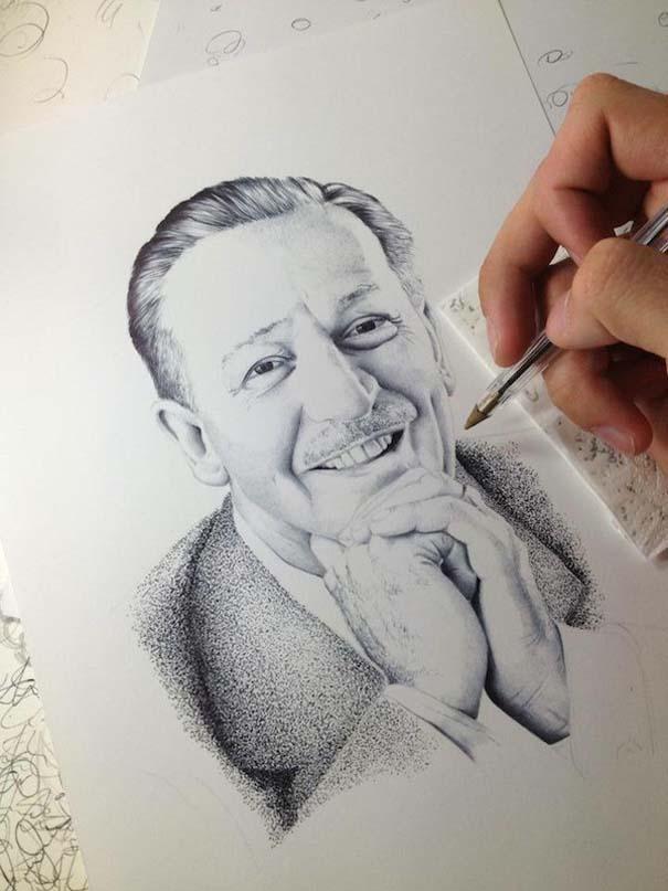 Φωτορεαλιστικά πορτραίτα με στυλό (7)