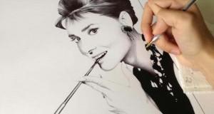 Φωτορεαλιστικά πορτραίτα με στυλό