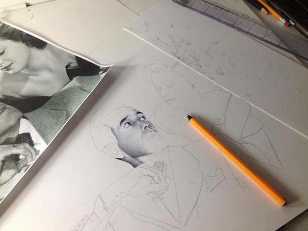 Φωτορεαλιστικά πορτραίτα με στυλό (9)