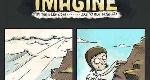 Το «Imagine» του John Lennon σε μορφή κόμικ