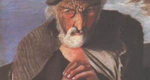 Καθρέφτης μετατρέπει τον παλιό πίνακα ζωγραφικής ενός ψαρά σε διάβολο