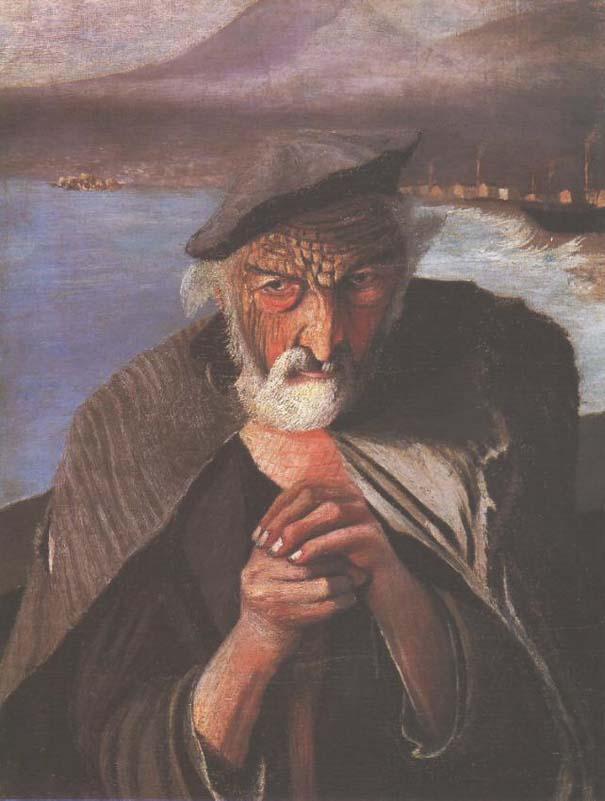 Καθρέφτης μετατρέπει τον παλιό πίνακα ζωγραφικής ενός ψαρά σε διάβολο (1)