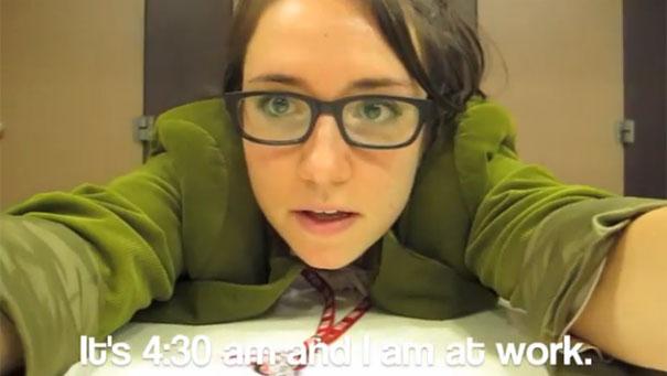 Κοπέλα παραιτήθηκε με ένα χορευτικό βίντεο για το αφεντικό της