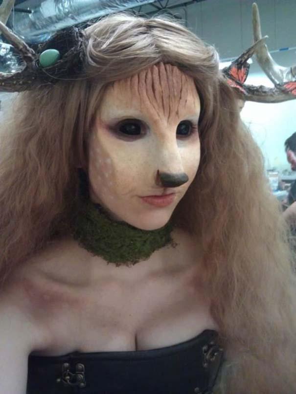 Ένα κορίτσι με ταλέντο στην τέχνη του μακιγιάζ (4)