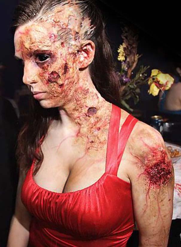 Ένα κορίτσι με ταλέντο στην τέχνη του μακιγιάζ (5)