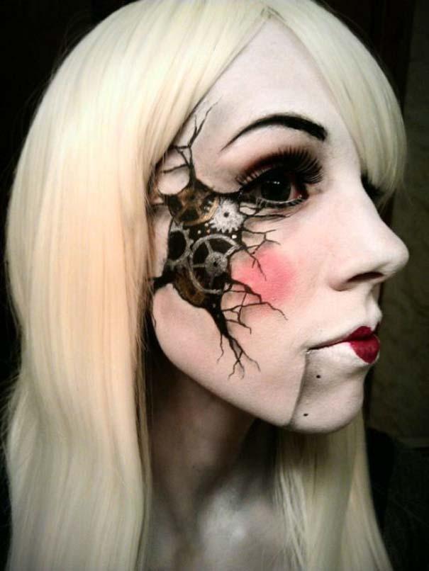 Ένα κορίτσι με ταλέντο στην τέχνη του μακιγιάζ (7)