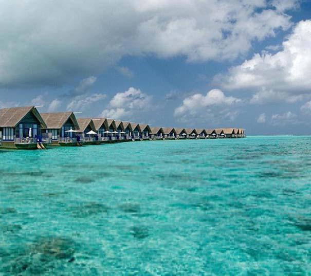 Ξενοδοχείο από βάρκες στο Cocoa Island των Μαλδίβων (2)