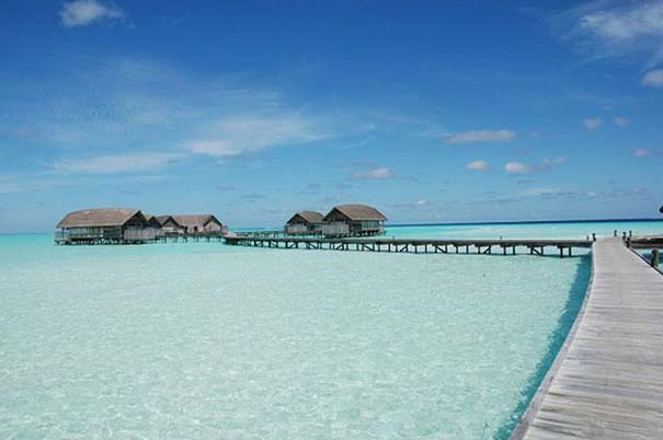 Ξενοδοχείο από βάρκες στο Cocoa Island των Μαλδίβων (3)