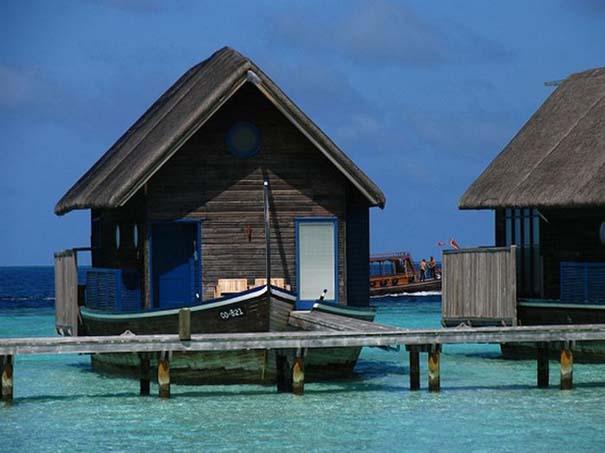 Ξενοδοχείο από βάρκες στο Cocoa Island των Μαλδίβων (6)