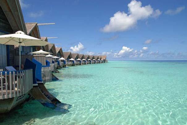 Ξενοδοχείο από βάρκες στο Cocoa Island των Μαλδίβων (15)