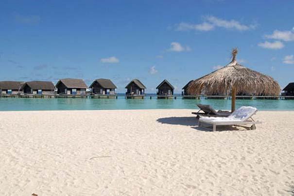 Ξενοδοχείο από βάρκες στο Cocoa Island των Μαλδίβων (16)