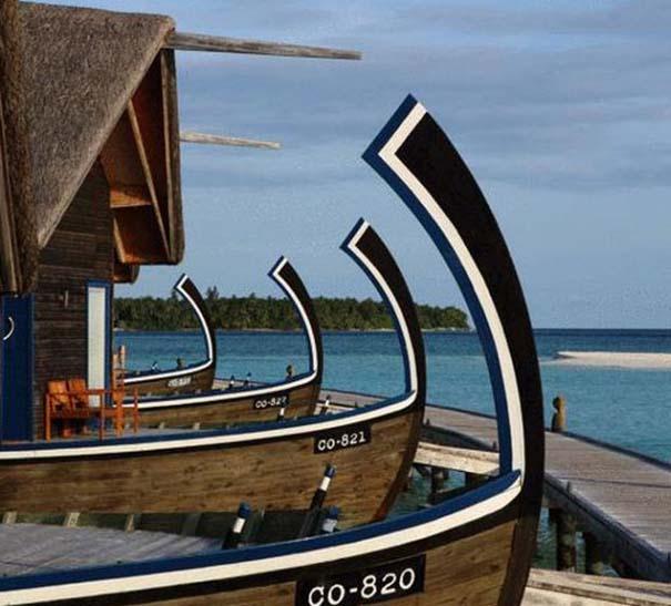 Ξενοδοχείο από βάρκες στο Cocoa Island των Μαλδίβων (17)