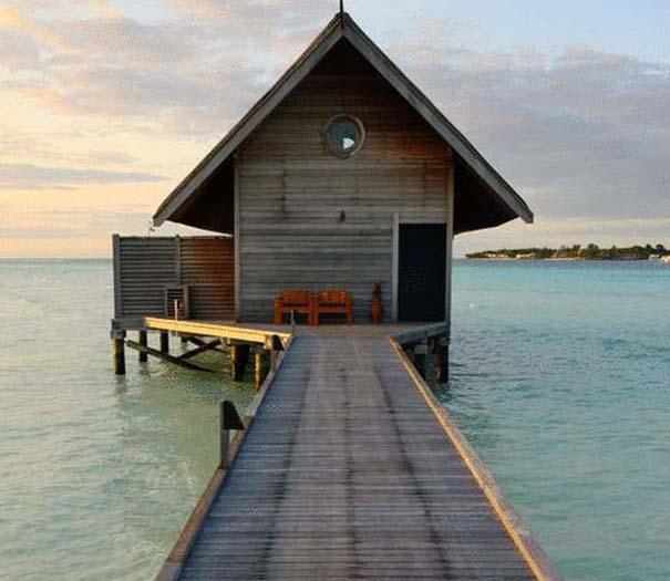 Ξενοδοχείο από βάρκες στο Cocoa Island των Μαλδίβων (18)