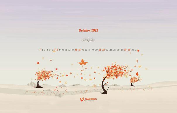 Wallpapers ημερολόγια Οκτωβρίου 2013 (3)