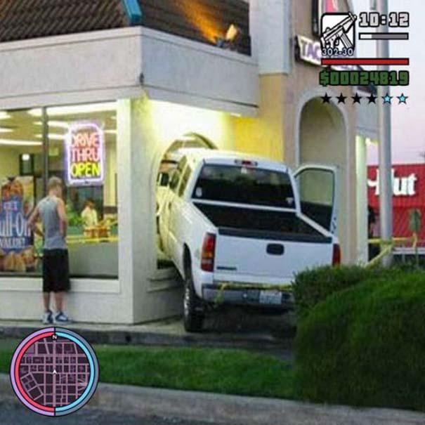 Όταν η πραγματικότητα μιμείται το Grand Theft Auto (5)
