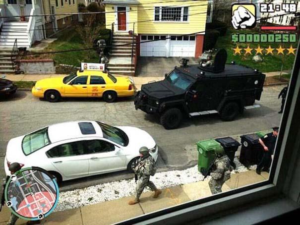 Όταν η πραγματικότητα μιμείται το Grand Theft Auto (6)
