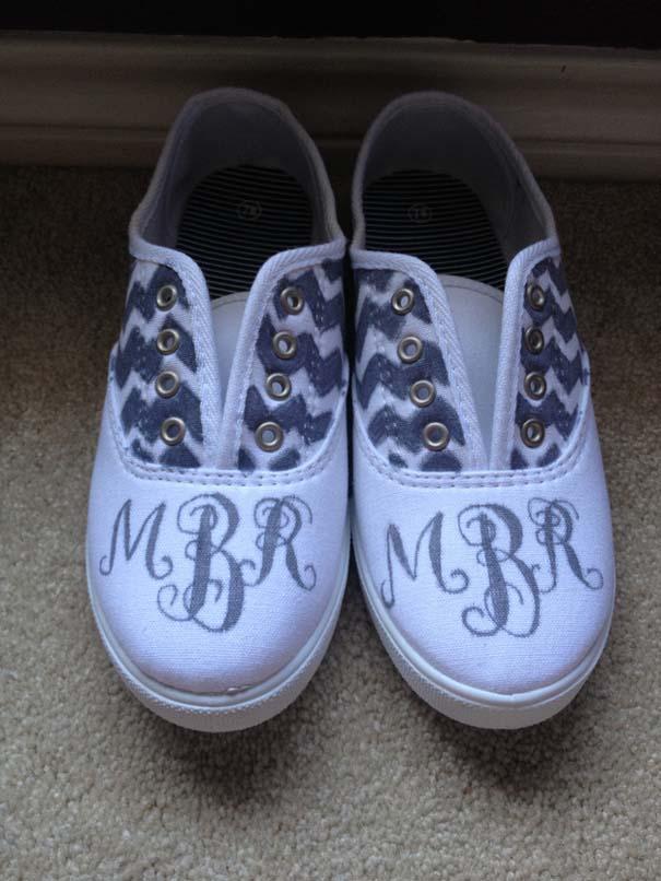Παπούτσια διακοσμημένα με μαρκαδόρο (4)