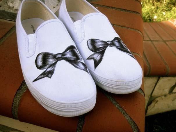 Παπούτσια διακοσμημένα με μαρκαδόρο (12)