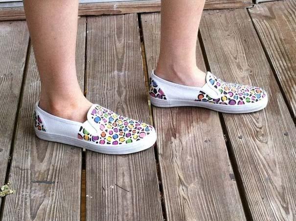 Παπούτσια διακοσμημένα με μαρκαδόρο (13)