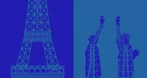 Παρίσι vs Νέα Υόρκη: Μια σύγκριση μέσα από μινιμαλίστικα σκίτσα