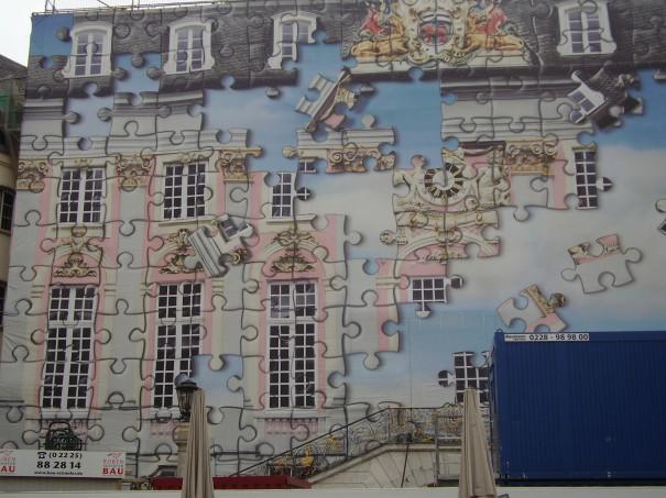Τοίχος «παζλ» στη Βόννη   Φωτογραφία της ημέρας