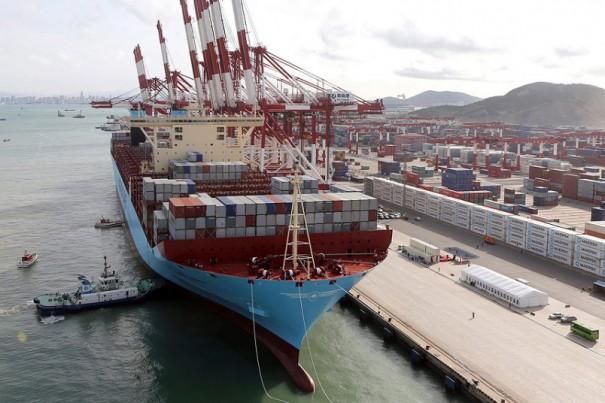 Έπιασε λιμάνι το μεγαλύτερο πλοίο container στον κόσμο | Φωτογραφία της ημέρας