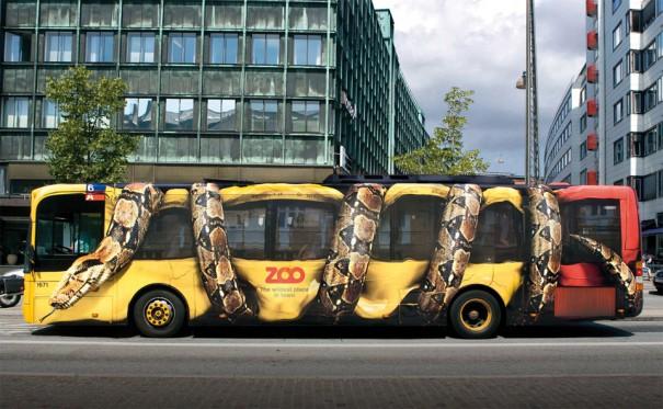 Η πιο δημιουργική διαφήμιση σε λεωφορείο | Φωτογραφία της ημέρας
