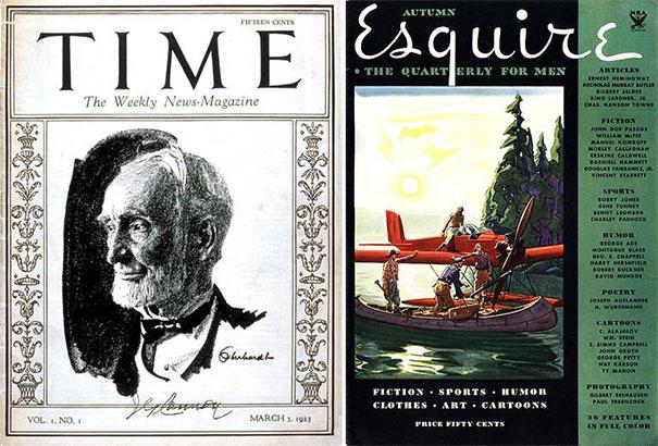 Τα πρώτα τεύχη διάσημων περιοδικών (1)
