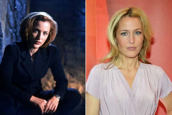 Πρωταγωνιστές σειράς «The X-Files» τότε και τώρα (3)