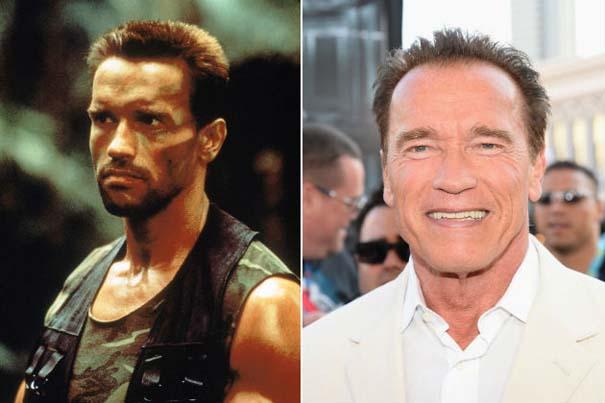 Πρωταγωνιστές ταινίας «Predator» τότε και τώρα (2)