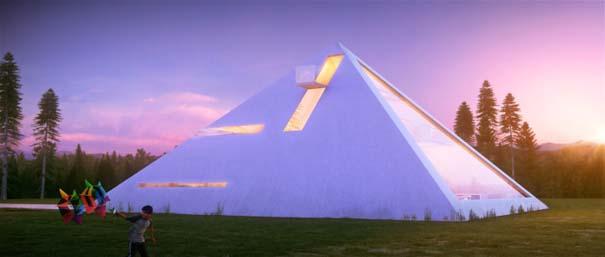 Σπίτι σε σχήμα πυραμίδας (3)