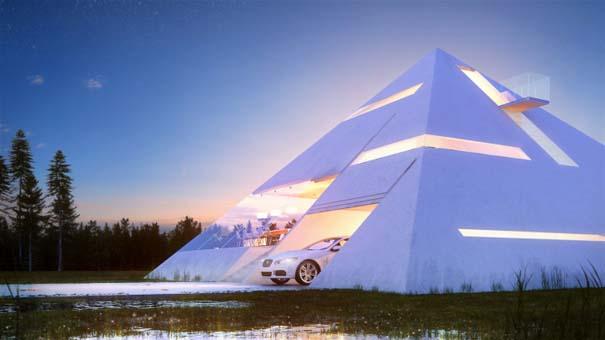 Σπίτι σε σχήμα πυραμίδας (4)