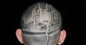30 περίεργα και πρωτότυπα τατουάζ στα μαλλιά